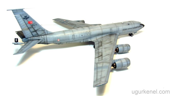 TURKISH AIR FORCE KC-135R STRATOTANKER – ITALERI 1/72
