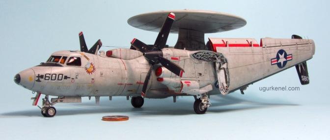 U.S. NAVY E-2C HAWKEYE