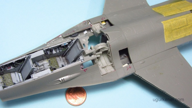 Italeri F-16D Fighting Falcon – Part 3