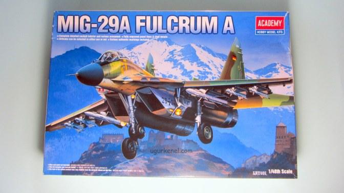MIG-29A FULCRUM – Building Steps 2