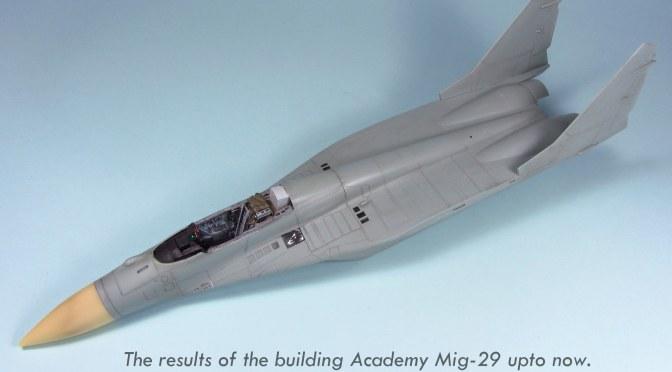 MIG-29A FULCRUM – Building Steps 4