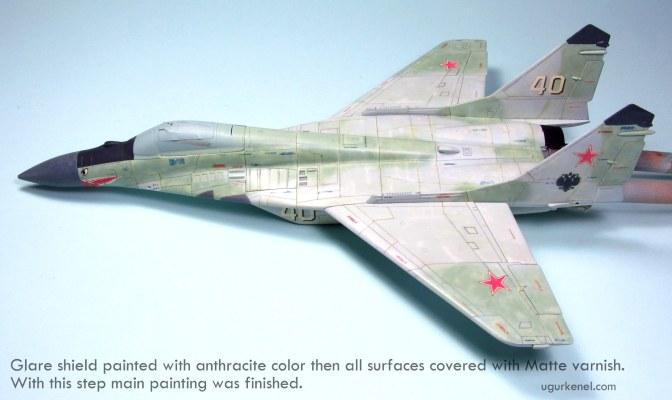 MIG-29A FULCRUM – Building Steps 6